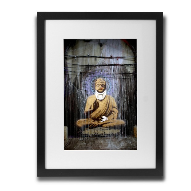 injured-buddha-by-banksy-framed-graphic-art-bsy1053-30f